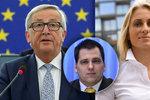 """V Bruselu si všimli, jak blbě Češi jedí. Junckera europoslanci chválí i """"pérují"""""""