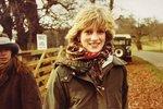 Diana na dosud nepublikovaných snímcích z počátku roku 1980 nebo 1981