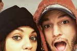 Herecký pár Mila Kunis a Ashton Kutcher