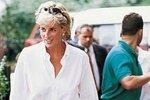 Diana měla ráda pohodlný styl
