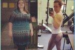 Matka tří dětí přišla o muže! Aby to překonala, v posilovně zhubla o půlku své váhy