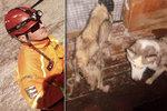 Tohle fenkám udělal hasič a záchranář! Málem zemřely hlady: »Byl to zkrat«, tvrdí