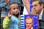 Tsipras peskoval Tuska. Nelíbí se mu zpochybnění uprchlických kvót