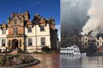 Luxusní hotel světových hvězd lehl popelem: Dva lidé zemřeli