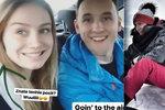 Kadeřávková z Ulice pláchla z Česka za teplem! Arichteva mrzne na horách