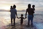 Rodina Klusova na dovolené