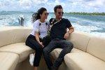 Leoš Mareš (41) s Monikou si užívají na Bora Bora, i když Monika jen napůl, trápí ji totiž chřipka.