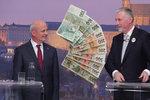Horáčka tepal Topolánek: Politická korupce kvůli dluhům a spor o kraje