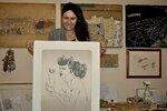 Alena Kupčíková: Moje obrazy z pubických chloupků zlepšují sexuální život párům