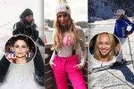 Ze sexy krásek sněhové královny: Erbová, Langmannová či Kristelová s Řepkou!