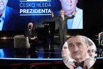 """Kníže o debatě: Na mě si Zeman tolik netroufl, na Drahoše se """"rozvalil"""""""