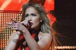 Záběr z koncertu Jennifer Lopez