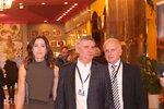 Alex Mynářová, manželka hradního kancléře, nemohla ve volebním štábu Miloše Zemana chybět.