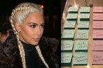 Kim Kardashian poslala svým haterům dáreček.