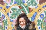Klára Issová na dovolené ve Španělsku