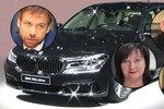 Babiše a jeho ministry čeká větší luxus v BMW za 50 milionů. Polepší si i Zeman