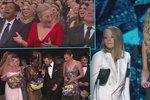 Střípky z letošních Oscarů: Zranění, vtípky na Meryl Streep i návštěva kina v přímém přenosu!