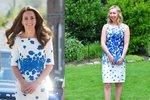 Blogerka napodobuje outfity vévodkyně Kate. Které to sluší víc?