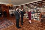 8. 3. 2018: Ivana Zemanová, manželka Miloše Zemana během inaugurace (8. 3. 2018)