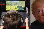 """""""Mohou vést děti k násilí."""" Trump kritizoval videohry při setkání s jejich tvůrci"""