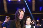 Anna K. a Tomáš Vartecký na cenách Anděl 2018