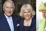 Královna Alžběta II. tvrdě o Camille: Je to zkažená žena, nechci s ní mít nic společného!