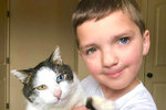 Kočka Moon trpí stejnou poruchou jako sedmiletý Madden