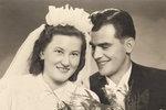 Svatba Jaroslavy a Jaroslava Doležalových, rok 1943
