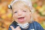 Beátka trpí TCS syndromem, který postihuje vzhled. Jinak je jako každé jiné zdravé dítě.