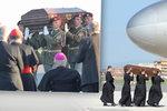 Ostatky kardinála Berana se po 50 letech vrátily domů. Z Vatikánu je přivezl vojenský speciál