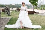 Eva Decastelo se fotila ve svatebních šatech