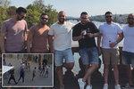 Útočníci, kteří přizabili číšníka: V Praze se loučili se svobodou! Je mezi nimi i policista