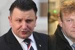 """Kauza """"brutálního úniku informací"""": Trest za útok na šéfa policie Komárkovi zrušili"""