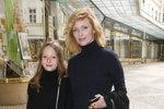 Geislerová vyvedla krásnou dceru: Stella už mámu dorůstá!