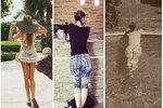 Celebrity na síti: Uhodnete, komu patří tyto slavné zadečky?