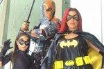 Casey v kostýmu Batgirl