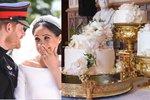 Královský dort odhalen! Vyšel na 1,5 milionu korun. Co ještě se jedlo po svatbě?