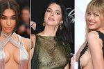 Nejodhalenější outfity nejen z Cannes a BMA: Kdo překvapil a kdo se odhaluje pravidelně?