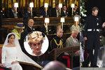 Prázdná židle pro Dianu na svatbě? Nebyla vůbec pro ni, utírají divákům slzy experti