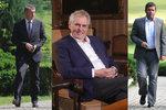 Zeman promluví o nové vládě. Podpora ČSSD rapidně klesla, voliči varují i ANO