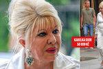 Ivana Trump (69) šokuje v St. Tropez: K teplákovce  si vzala lodičky, kabelku od Diora a rolexky za 200 tisíc