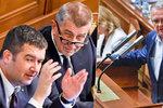 """Kalousek """"neporodil"""" Babiše, vláda je pátá kolona Ruska. A bude hůř, reaguje opozice"""