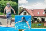 Roman Skamene ukázal bydlení: Denně uplave 100 bazénů!