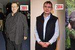 Jo-jo efekt Jiřího Hromady: Ze 185 kg zhubl 90 kg  a nyní? Musí chodit o berli