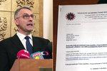 Metnar odmítl rezignovat. Ministrova diplomka není plagiát, tvrdí škola