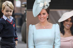 Pocta pro prince George: Vyrovnal se už mámě Kate a tetě Meghan!