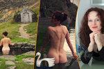 Padesátnice Sára Saudková se nestydí! Provokuje nahými fotkami