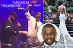 Pompézní miliardářská veselka spoluzakladatele slavné módní značky: Novomanželům zahrál herec Idris Elba!