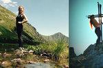 Česká turistka Šárka (29) se vyfotila nahá na horách. Slováci běsní! Neúcta, bouří se
