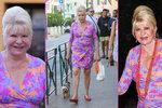 Ivana Trump (69) nocovala nečekaně u pána? Nenalíčená, stejné šaty a ve tváři ruměnec